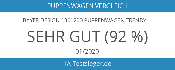 Bayer Design 1301200 Puppenwagen Trendy