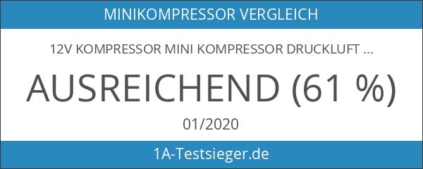 12V Kompressor Mini Kompressor Druckluft Pumpe