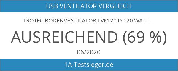 TROTEC Bodenventilator TVM 20 D 120 Watt Leistung Durchmesser 50