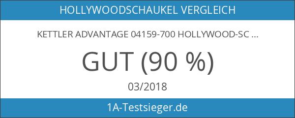 Kettler Advantage 04159-700 Hollywood-Schaukel 137x217x163 cm