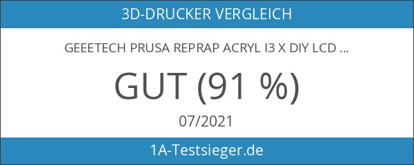 Geeetech Prusa Reprap Acryl I3 X DIY LCD Glühfaden 3D-Druckerunterstützung