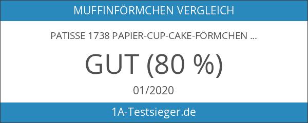 Patisse 1738 Papier-Cup-Cake-Förmchen