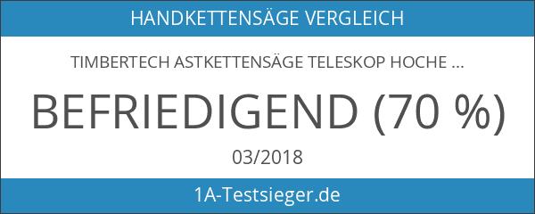 Timbertech Astkettensäge Teleskop Hochentaster 52 ccm