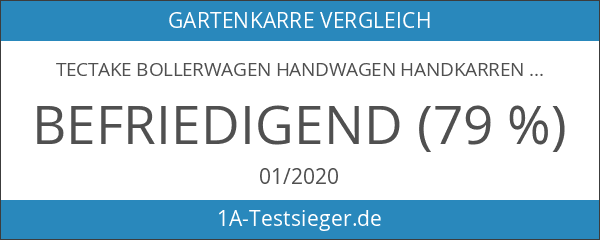 TecTake Bollerwagen Handwagen Handkarren -Diverse Modelle-