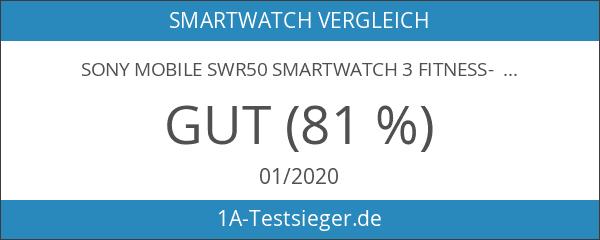 Sony Mobile SWR50 SmartWatch 3 Fitness- und Aktivitätstracker Armband Kompatibel