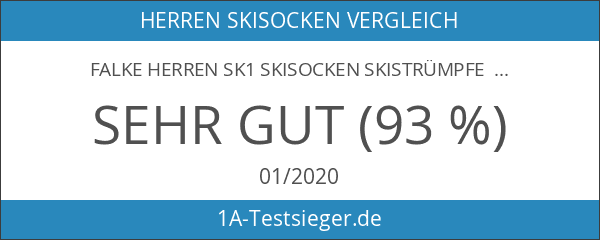 FALKE Herren SK1 Skisocken Skistrümpfe Comfort Skiing 16506 1 Paar