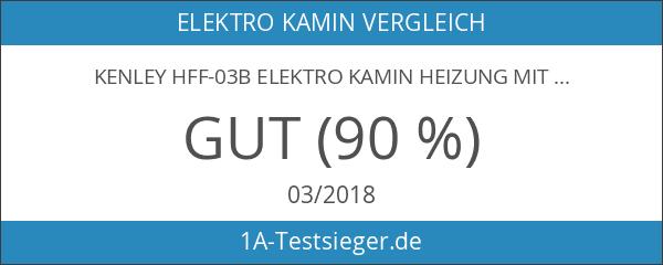 Kenley hff-03b Elektro Kamin Heizung mit Holzofen Effekt