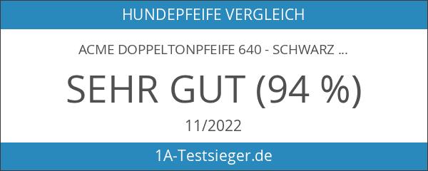 ACME Doppeltonpfeife 640 - Schwarz