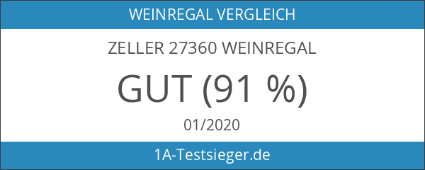 Zeller 27360 Weinregal