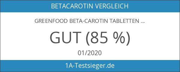 Greenfood Beta-Carotin Tabletten