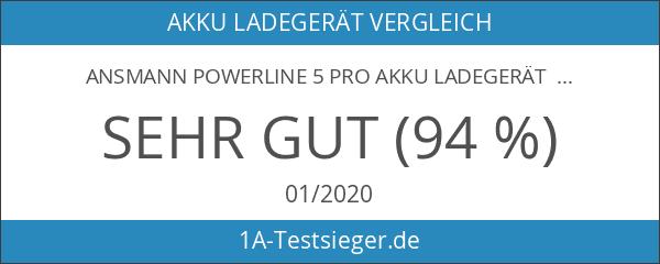 ANSMANN Powerline 5 Pro Akku Ladegerät für 1-4 AAA