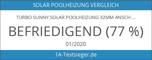 Turbo Sunny Solar Poolheizung 32mm Anschluss 3er Set 365W Heizleistung