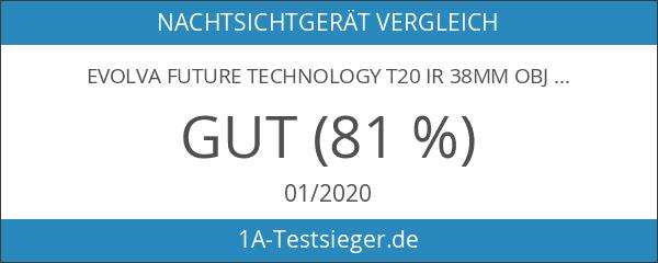 Evolva Future Technology T20 IR 38mm Objektiv Infrarot-Licht-Nachtsicht -Taschenlampe -Um