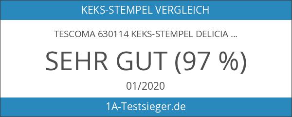Tescoma 630114 Keks-Stempel Delicia