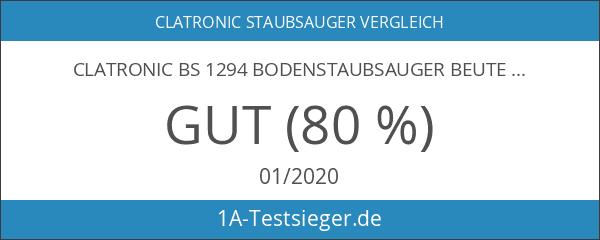 Clatronic BS 1294 Bodenstaubsauger beutellos EEK A