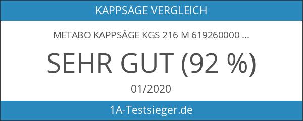 Metabo Kappsäge KGS 216 M