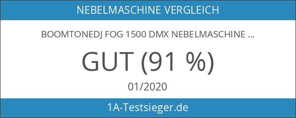 BoomToneDJ FOG1500DMX Nebelmaschine
