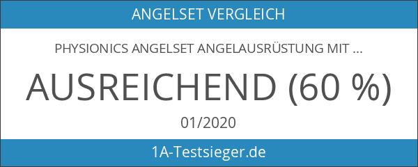Physionics Angelset Angelausrüstung mit 3 Ruten