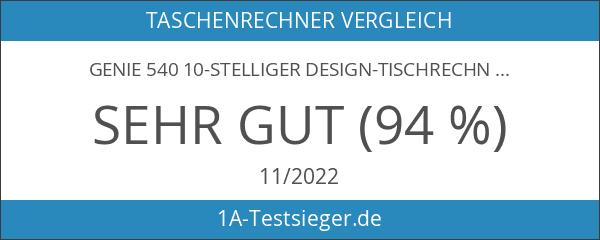 Genie 540 10-stelliger Design-Tischrechner
