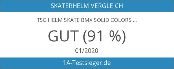 TSG Helm Skate BMX Solid Colors