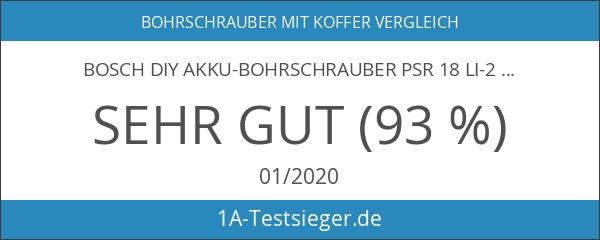 Bosch DIY Akku-Bohrschrauber PSR 18 LI-2