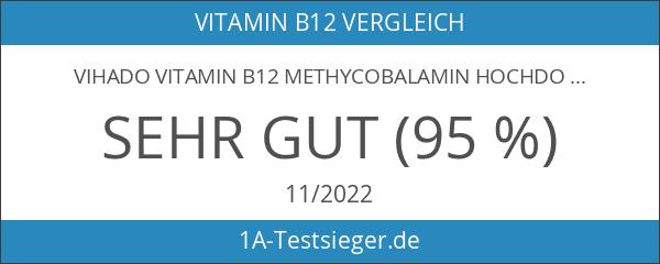 Vihado Vitamin B12 Methycobalamin hochdosiert