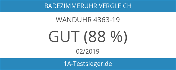 Wanduhr 4363-19
