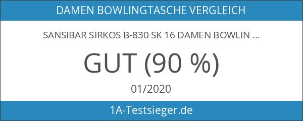 Sansibar Sirkos B-830 SK 16 Damen Bowlingtaschen 31x21x17 cm