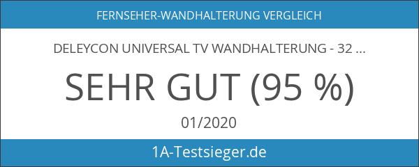 """deleyCON Universal TV Wandhalterung - 32"""" - 55"""" Zoll -"""