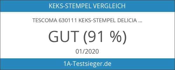Tescoma 630111 Keks-Stempel Delicia