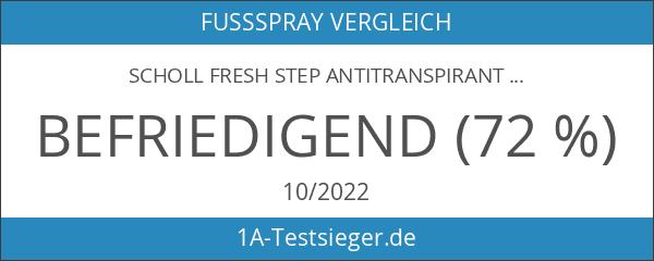 Scholl Fresh Step Antitranspirant