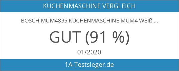 Bosch MUM4835 Küchenmaschine MUM4 weiß