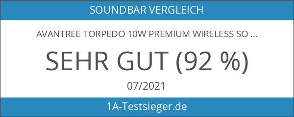 Avantree Torpedo 10W Premium Wireless Soundbar
