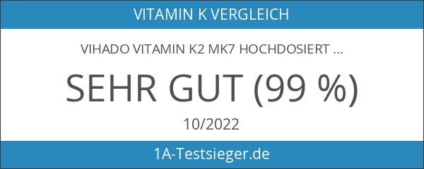 Vihado Vitamin K2 MK7 hochdosiert