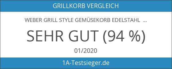 Weber Grill Style Gemüsekorb Edelstahl klein 6481