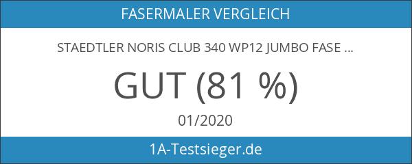Staedtler Noris Club 340 WP12 Jumbo Fasermaler