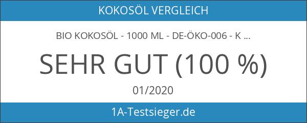 BIO Kokosöl - 1000 ml - DE-ÖKO-006 - Kokosöl nativ