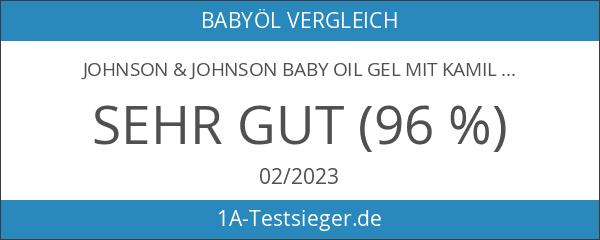 JOHNSON & JOHNSON BABY OIL GEL MIT KAMILIE - 200