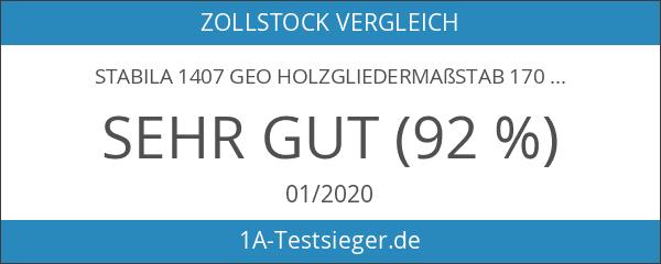 Stabila 1407 GEO Holzgliedermaßstab 1707