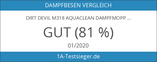 Dirt Devil M318 AquaClean Dampfmopp
