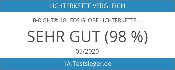 B-right® 40 LEDs Globe Lichterkette