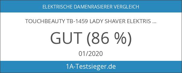 TOUCHBeauty TB-1459 Lady Shaver Elektrischer Rasierer für Frauen Batteriebetrieben