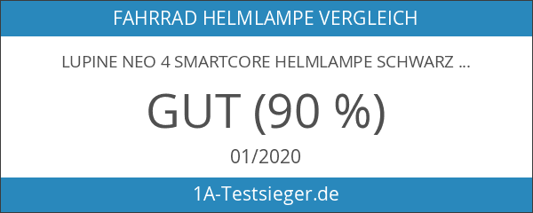 Lupine Neo 4 SmartCore Helmlampe schwarz 2017 Fahrrad helmlampe