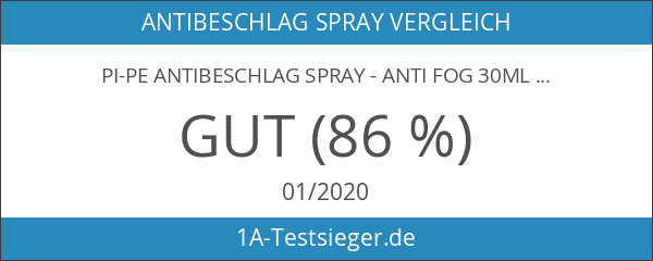 PI-PE Antibeschlag Spray - Anti Fog 30ml Schwimmbrillenspray Taucherbrillen Spray