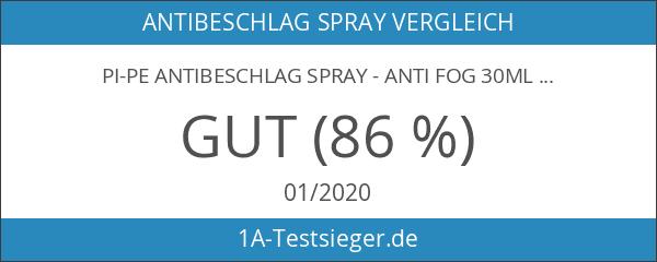 PI-PE Antibeschlag Spray - Anti Fog 30ml Schwimmbrillenspray Taucherbrillen Spray