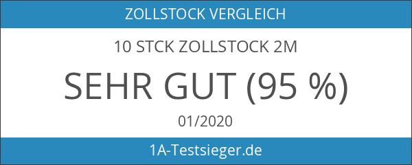 10 Stck Zollstock 2m