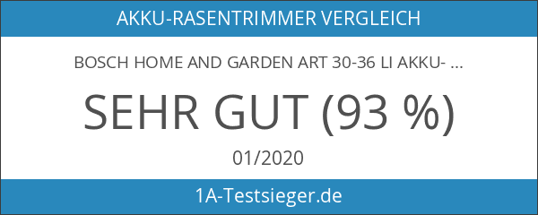 Bosch Home and Garden ART 30-36 LI Akku-Rasentrimmer