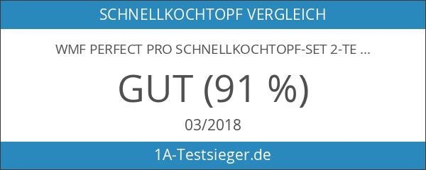 WMF Perfect Pro Schnellkochtopf-Set 2-teilig 3l & 4