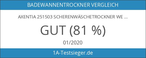 Axentia 251503 Scherenwäschetrockner weiss beschichtet