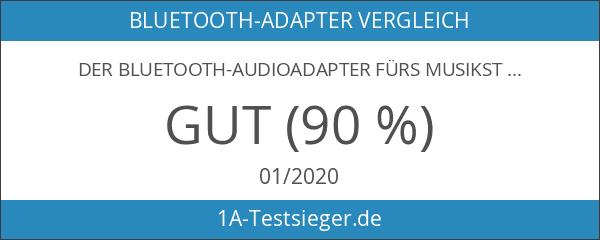 Der Bluetooth-Audioadapter fürs Musikstreaming-Soundsystem